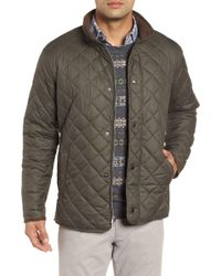 Peter Millar - Suffolk Quilted Water-resistant Car Coat - Lyst