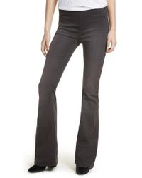 Free People - Gummy Pull-on Flare Leg Jeans - Lyst