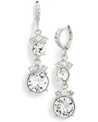 Givenchy - Double Drop Earrings - Lyst