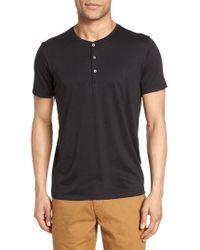 Bonobos - Superfine Henley T-shirt - Lyst
