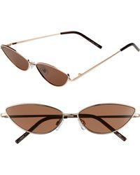 Glance Eyewear - 57mm Wide Cat Eye Sunglasses - - Lyst