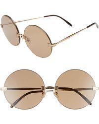 Wildfox - Starlight 62mm Oversize Round Sunglasses - - Lyst