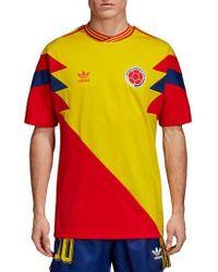 adidas Originals - Colombia Mash-up Jersey - Lyst