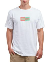 Volcom - Same Difference T-shirt - Lyst