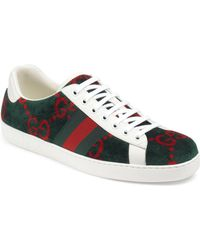 b641b22fb Gucci Wolf Gg Supreme Slip-on Sneaker in Natural for Men - Lyst