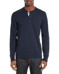 Rag & Bone - Standard Issue Henley - Lyst
