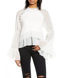 b310112f820 Endless Rose - Bell Sleeve Top - Lyst