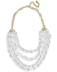 BaubleBar - Laree Multistrand Statement Necklace - Lyst