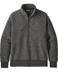 Patagonia - Woolyester Fleece Quarter Zip Pullover - Lyst