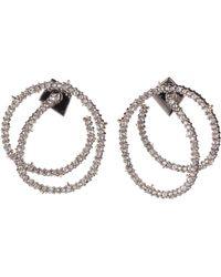 Alexis Bittar - Crystal Encrusted Coil Link Earrings - Lyst