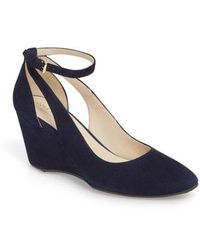 Cole Haan - Lacey Cutout Wedge Pump - Lyst