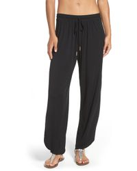Robin Piccone - Side Split Cover-up Pants - Lyst