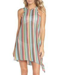 Becca - Seville Stripe Cover-up Dress - Lyst
