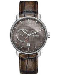 Rado - Coupole Classic Automatic Leather Strap Watch - Lyst