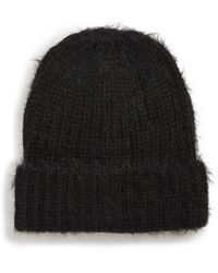 Treasure & Bond - Eyelash Beanie - Lyst