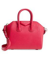 Givenchy - 'mini Antigona' Sugar Leather Satchel - Lyst