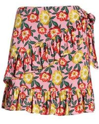 The Fifth Label - Reunion Floral Print Wrap Skirt - Lyst