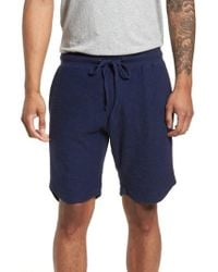 Goodlife | Terry Cotton Blend Shorts | Lyst