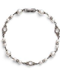 Nadri | Imitation Pearl Bracelet | Lyst