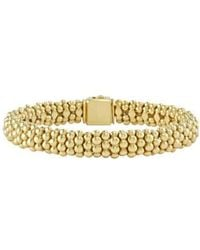 Lagos - 'caviar Gold' Rope Bracelet - Lyst