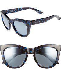 8642679db7f Smith -  sidney  55mm Polarized Sunglasses - Imperial Tortoise - Lyst