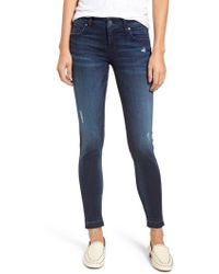 Kut From The Kloth - Donna Release Hem Skinny Ankle Jeans - Lyst