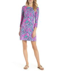 Lilly Pulitzer - Lilly Pulitzer Sophie Upf50+ Dress - Lyst