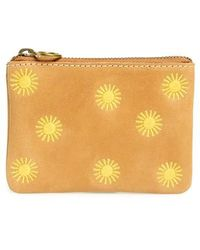 Madewell - Sun Embroidered Small Flat Zip Pouch - Lyst