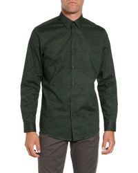 Calibrate - Slim Fit Dot Non Iron Sport Shirt - Lyst