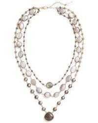Ela Rae - Multistrand Necklace - Lyst