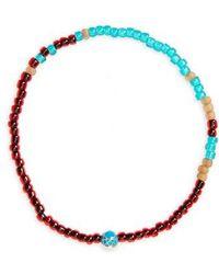 Luis Morais - Mini Faceted Mantra Bracelet - Lyst