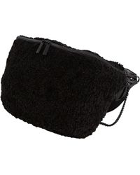 BEIS - The Fanny Pack Faux Shearling Belt Bag - Lyst