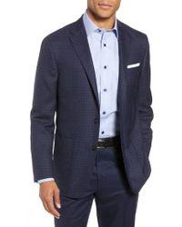 Hickey Freeman - Classic B-fit Check Wool Sport Coat - Lyst