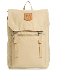Fjallraven - Foldsack No.1 Water Resistant Backpack - Burgundy - Lyst