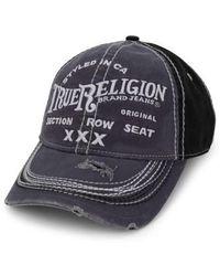 True Religion - 'triple X' Baseball Cap - Lyst