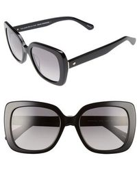 Kate Spade - Krystalyn 53mm Sunglasses - - Lyst