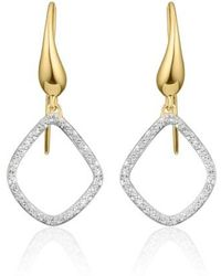 Monica Vinader | 'riva Kite' Diamond Drop Earrings | Lyst