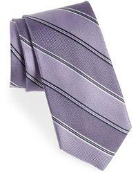 Calibrate - Williard Stripe Silk Tie - Lyst