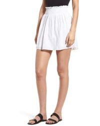 Hinge - Embroidered Skirt - Lyst