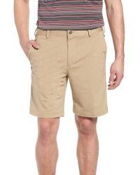 Bobby Jones - Trim Fit Tech Chino Shorts - Lyst