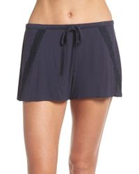 Natori - Feathers Essential Pajama Shorts - Lyst