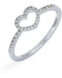 CARRIERE JEWELRY - Carriere Open Heart Diamond Ring (nordstrom Exclusive) - Lyst