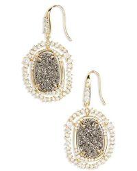 Melinda Maria | Gina Drop Earrings | Lyst