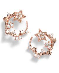 Olivia Burton - Celestial Swirl Stud Earrings - Lyst