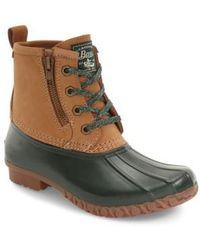 G.H.BASS - Danielle Waterproof Duck Boots - Lyst