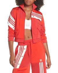 adidas Originals - X Danielle Cathari Cropped Track Jacket - Lyst