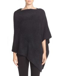 Barefoot Dreams - Barefoot Dreams Boatneck Cozychic Poncho - Lyst