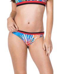 Trina Turk - Tahiti Tropical Hipster Bikini Bottoms - Lyst