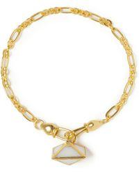 Sole Society - Quartz Charm Bracelet - Lyst