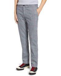 Original Penguin - P55 Plaid Slim Fit Pants - Lyst